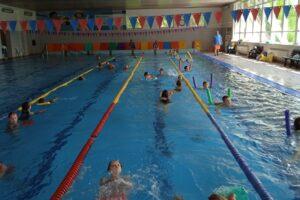 Plavecký výcvik v Srní